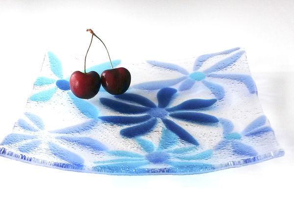 Создаем тарелочку из стекла в технике «фьюзинг» | Ярмарка Мастеров - ручная работа, handmade