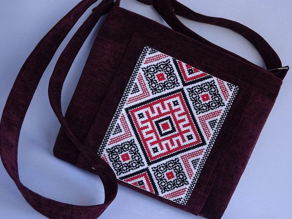 a4a12d683745 Шьем сумочку с вышивкой в славянском стиле | Ярмарка Мастеров - ручная  работа, handmade