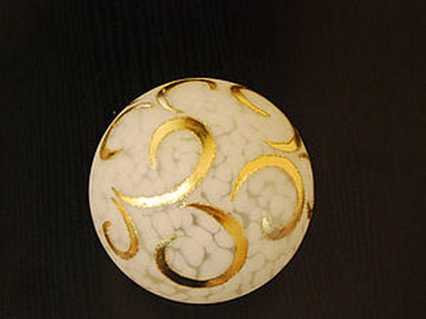 Декорирование плафона позолотой | Ярмарка Мастеров - ручная работа, handmade