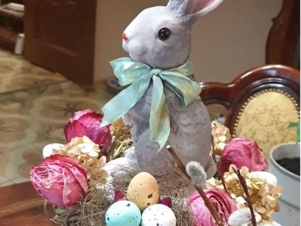 Как сделать Пасхальный декор для праздничного стола | Ярмарка Мастеров - ручная работа, handmade
