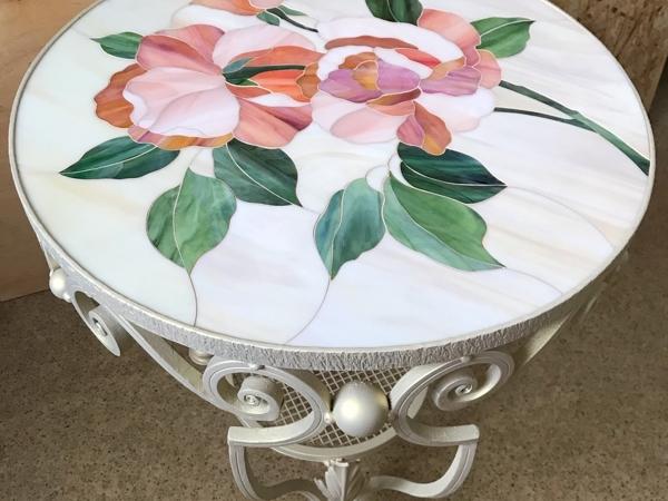 Весь май скидка при заказе журнального столика с мозаикой | Ярмарка Мастеров - ручная работа, handmade