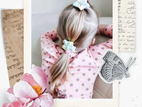 Что делать если волосы у дочки не густые, а красивых причёсок хочется? | Ярмарка Мастеров - ручная работа, handmade