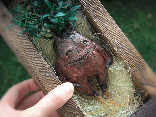 Mandrake. How to Make a Magical Creature | Livemaster - handmade