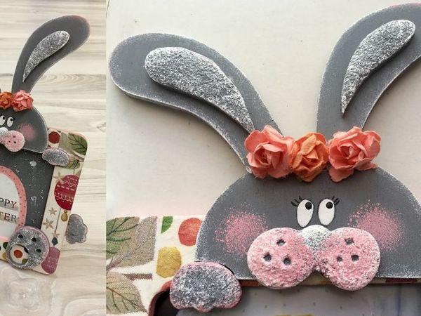 Видеоурок: создаем пасхального кролика-декор | Ярмарка Мастеров - ручная работа, handmade