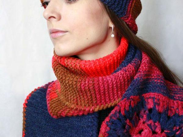 Продолжается распродажа вязаных шапок и шарфов. -50% на готовые работы | Ярмарка Мастеров - ручная работа, handmade