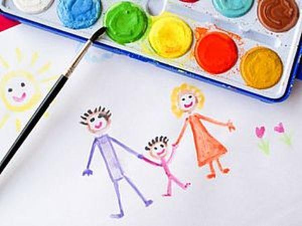 Арттерапия, упражнения для деток с повышенным уровнем тревожности.Часть 3. | Ярмарка Мастеров - ручная работа, handmade
