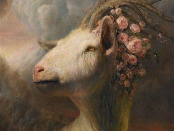 Забавные козы глазами художников | Ярмарка Мастеров - ручная работа, handmade