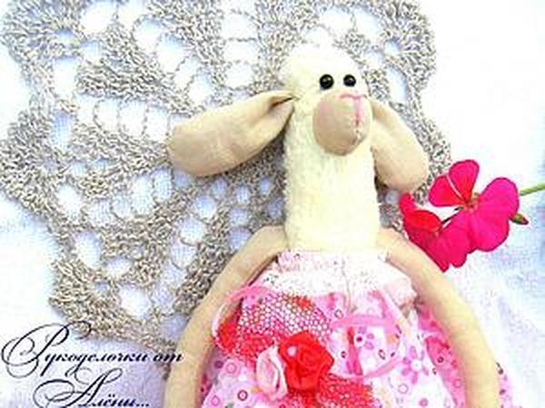 Шьем овечку в стиле Тильда — Маюша | Ярмарка Мастеров - ручная работа, handmade