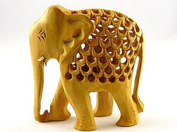 Священные индийские животные в работах мастеров: фигурки слонов из камня и дерева | Ярмарка Мастеров - ручная работа, handmade