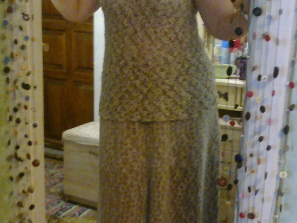 скидка на костюм изо льна   Ярмарка Мастеров - ручная работа, handmade