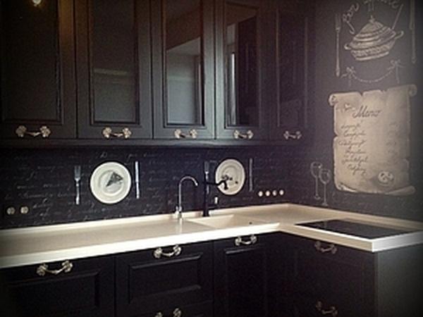 Роспись скинали кухни