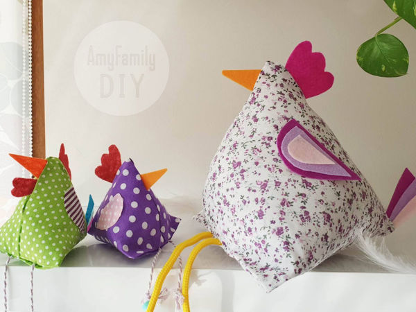 How to Create Easter Chicken without Sewing | Livemaster - handmade