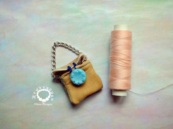 Изготавливаем сумочку для куклы своими руками   Ярмарка Мастеров - ручная работа, handmade
