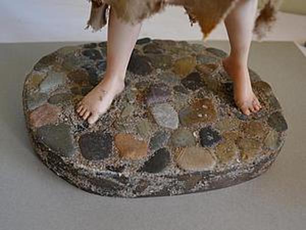 Делаем подставку для авторской куклы а-ля каменная мостовая | Ярмарка Мастеров - ручная работа, handmade