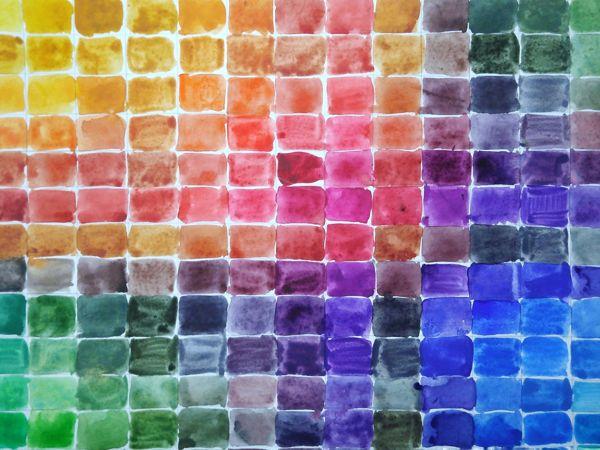 Изучаем свои акварельных краски — делаем цветовые упражнения | Ярмарка Мастеров - ручная работа, handmade