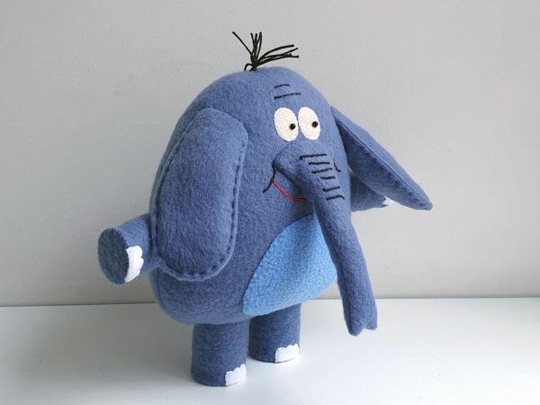 Слон Родион мягкая игрушка   Ярмарка Мастеров - ручная работа, handmade