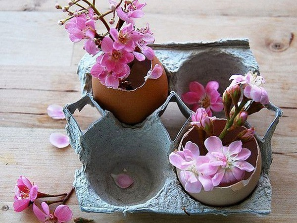 Easter Crafts from Egg Trays | Livemaster - handmade