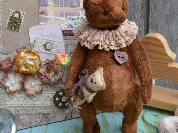 Новый мишка Брауни   Ярмарка Мастеров - ручная работа, handmade