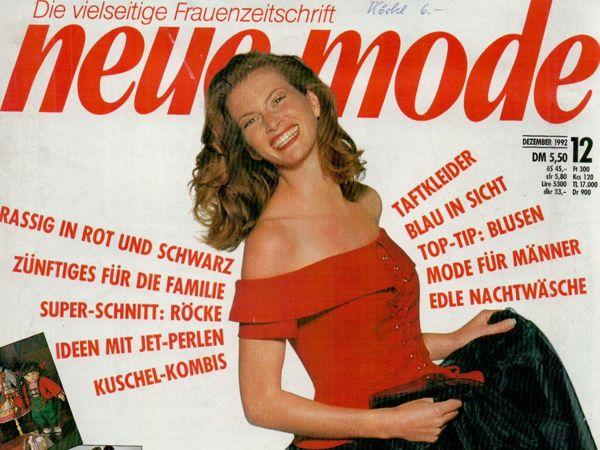 Neue mode 12 1992 (декабрь) | Ярмарка Мастеров - ручная работа, handmade