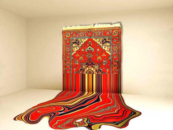 Ломаем стереотипы и вешаем ковер на стену | Ярмарка Мастеров - ручная работа, handmade