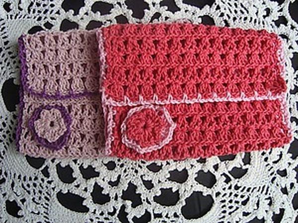 НОВИНКА!Вязаная упаковка для салфеток и носовых платочков | Ярмарка Мастеров - ручная работа, handmade