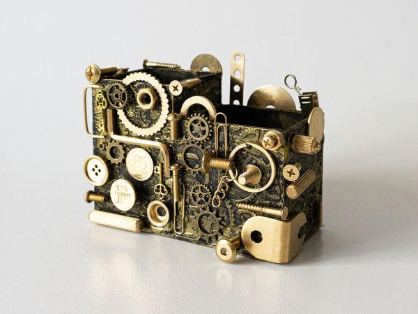 Делаем органайзер в стиле стимпанк | Ярмарка Мастеров - ручная работа, handmade