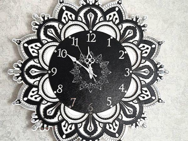 Маленькие истории  моих работ. Часы с зеркальной мозаикой для Анастасии | Ярмарка Мастеров - ручная работа, handmade
