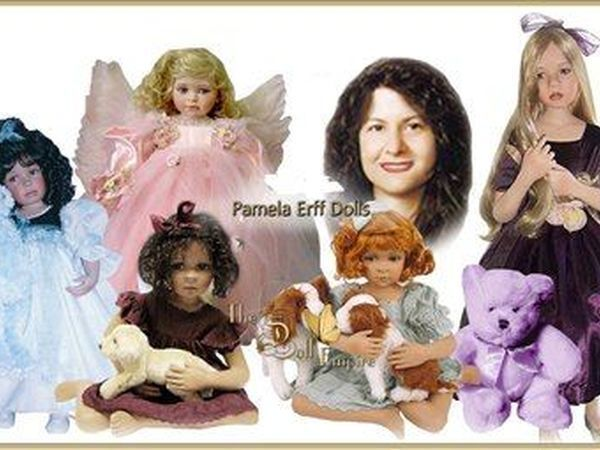 Эксклюзивные куколки из винила и фарфора от Pamela Erff   Ярмарка Мастеров - ручная работа, handmade