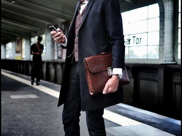 Как выбрать мужскую сумку | Ярмарка Мастеров - ручная работа, handmade