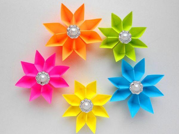 Мастерим бумажные цветы к 8 марта | Ярмарка Мастеров - ручная работа, handmade