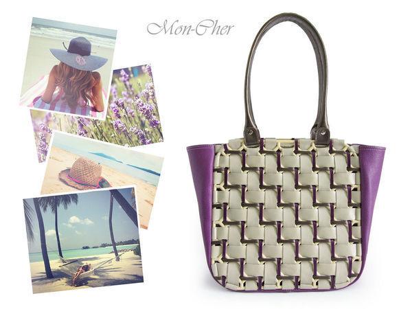e309167a1688 Создаем летнюю кожаную сумку «Плетенка» | Ярмарка Мастеров - ручная работа,  handmade