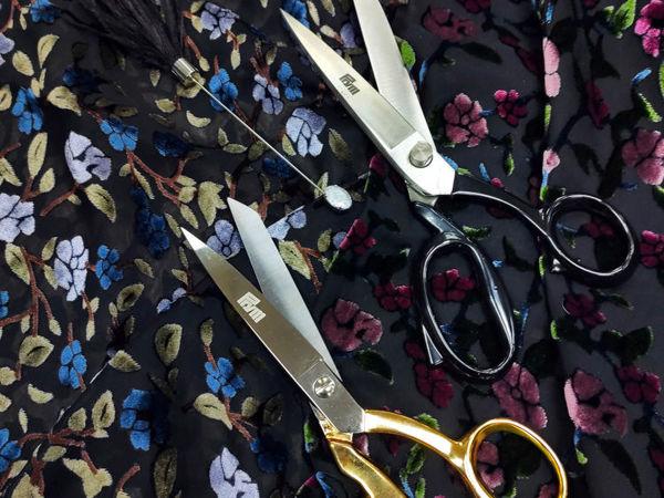 Профессиональные портновские ножницы | Ярмарка Мастеров - ручная работа, handmade