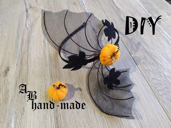 Создаем ободок на Хэллоуин | Ярмарка Мастеров - ручная работа, handmade