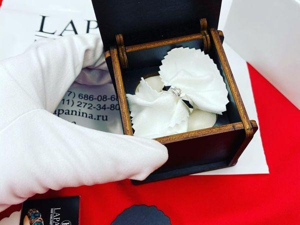 Золотое кольцо с бриллиантом изготовили под заказ | Ярмарка Мастеров - ручная работа, handmade