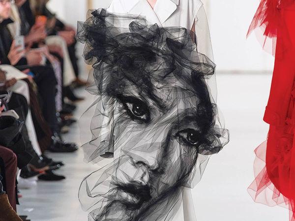 Волшебство фатина в совместном творчестве John Galliano и Benjamin Shine для Maison Margiela Artisanal | Ярмарка Мастеров - ручная работа, handmade