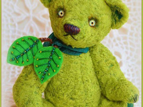 Аукцион с О на мишку Гренни Смит | Ярмарка Мастеров - ручная работа, handmade