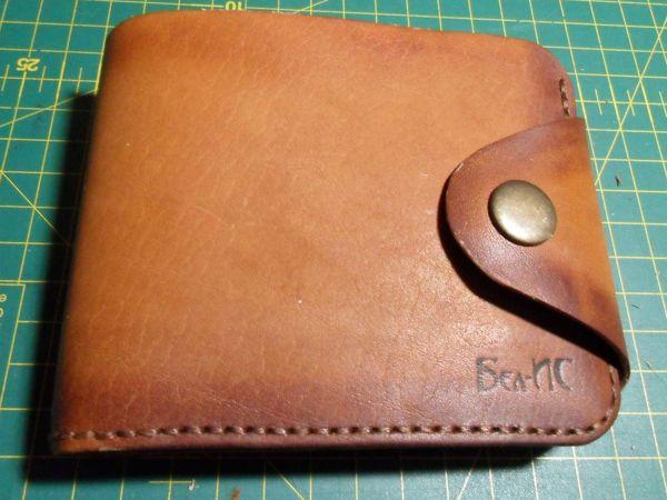 Как сшить кожаный кошелек | Ярмарка Мастеров - ручная работа, handmade