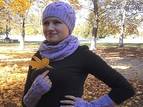 Осенняя фотосессия. Мои вязаные аксессуары на модели   Ярмарка Мастеров - ручная работа, handmade