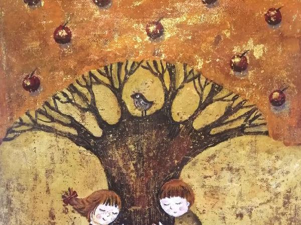 Когда деревья были большие | Ярмарка Мастеров - ручная работа, handmade