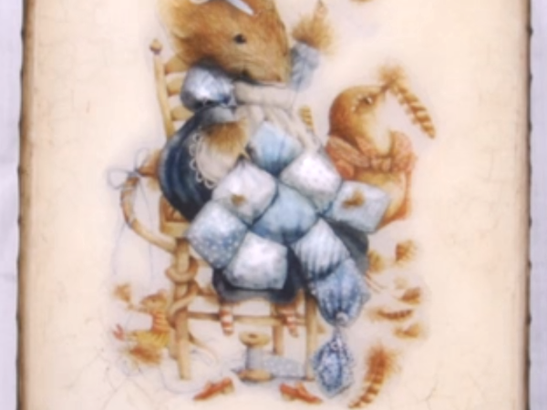 Видео мастер-класс по декупажу: процесс преображения шкатулки «Маленькая мышка». Часть 5: двухшаговый кракелюрный лак   Ярмарка Мастеров - ручная работа, handmade