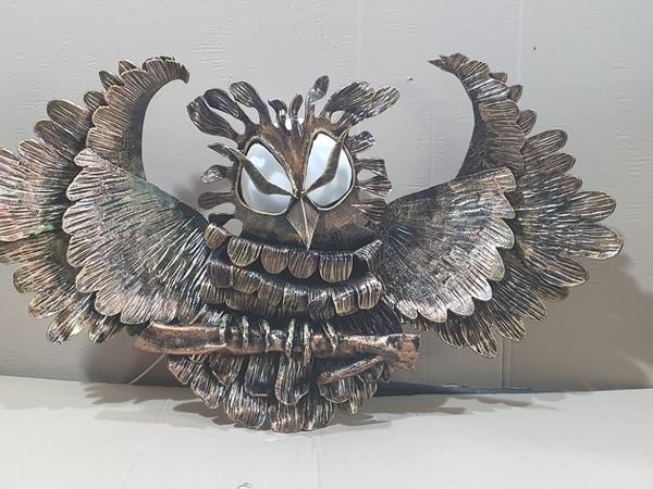 Фонарь сова(ковка) | Ярмарка Мастеров - ручная работа, handmade