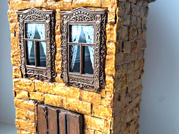 Making Miniature Cardboard House With Your Own Hands | Livemaster - handmade