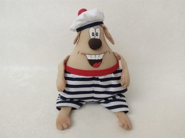 Шьем веселую собачку — символ Нового года   Ярмарка Мастеров - ручная работа, handmade