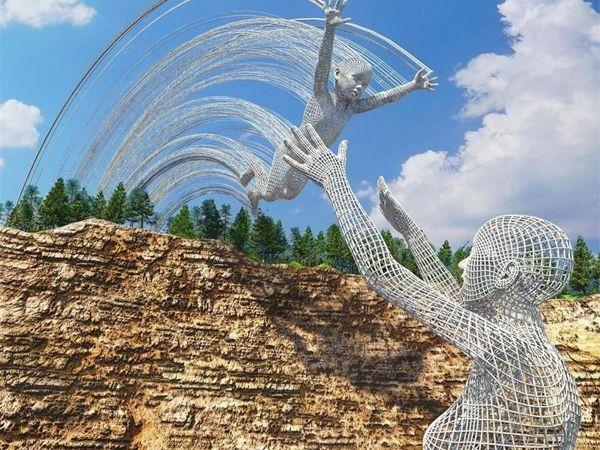Скульптуры, которых на самом деле нет | Ярмарка Мастеров - ручная работа, handmade