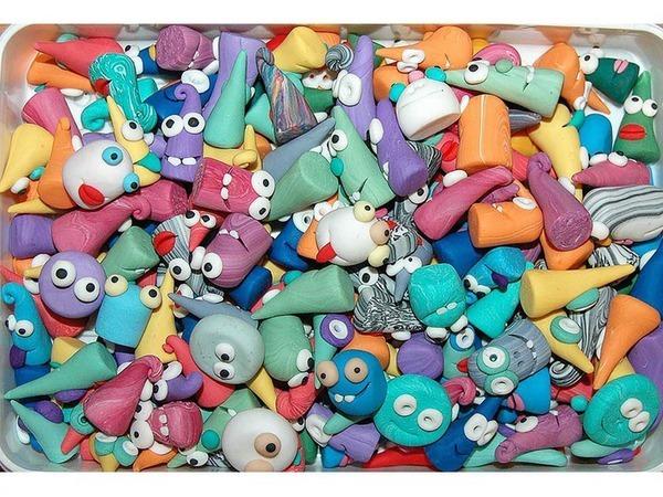 Делаем веселые фишки из полимерной глины для настольных игр | Ярмарка Мастеров - ручная работа, handmade