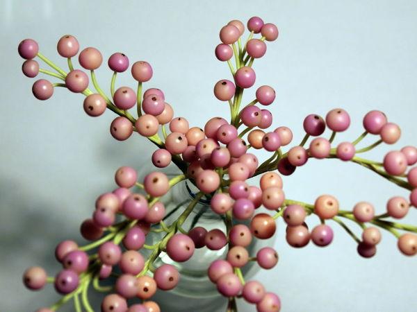 Лепка розового перца из полимерной глины   Ярмарка Мастеров - ручная работа, handmade