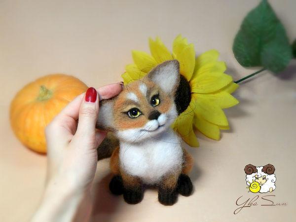 Валяем лисичку | Ярмарка Мастеров - ручная работа, handmade