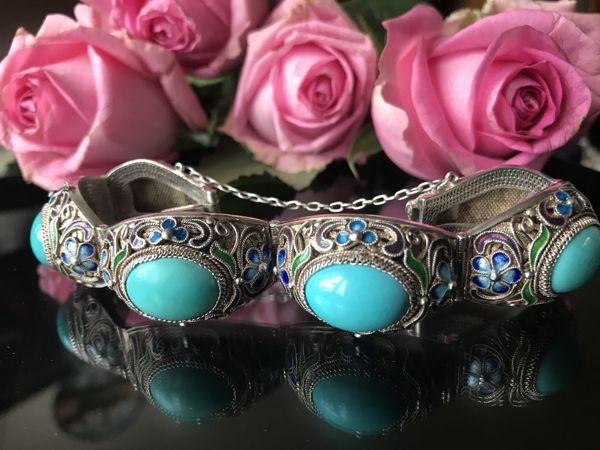 Серебряные браслеты Экспортный Китай   Ярмарка Мастеров - ручная работа, handmade