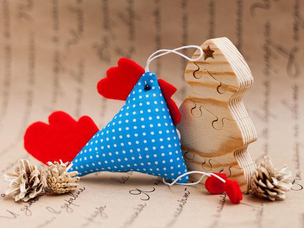 Шьем текстильного петушка   Ярмарка Мастеров - ручная работа, handmade