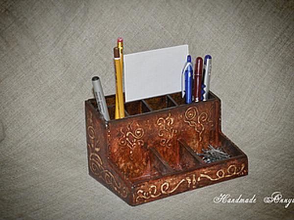 Карандашница   Ярмарка Мастеров - ручная работа, handmade
